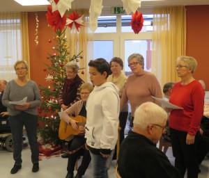 Weihnachtsfeier Tagespflege Estenfeld 2019 (50)