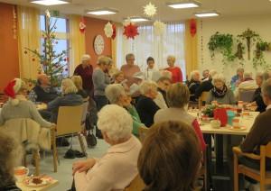 Weihnachtsfeier Tagespflege Estenfeld 2019 (90)